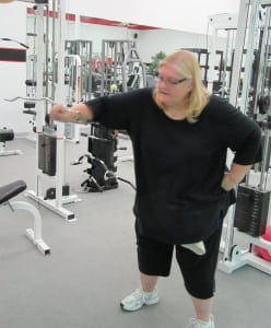 Kathy.Cincinnati.gym